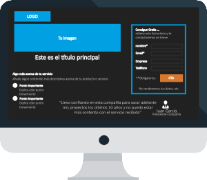 Landing Pages - Marketing con Salesforce de LeadClic Solutions